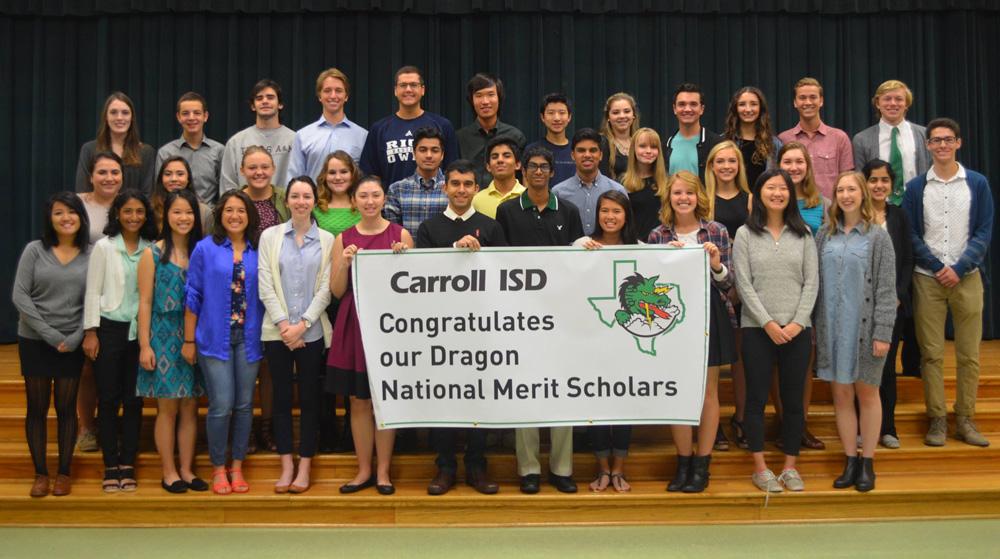 Carroll ISD - National Merit Scholars